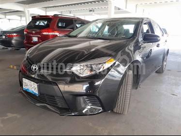 Toyota Corolla C usado (2015) color Negro precio $180,000