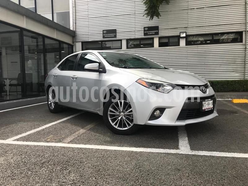 Toyota Corolla LE 1.8L usado (2015) color Gris precio $178,000