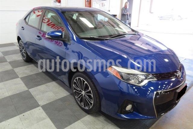 Toyota Corolla S usado (2014) color Azul precio $80,000