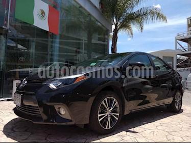 Toyota Corolla 4p LE L4/1.8 Aut usado (2016) color Negro precio $225,000