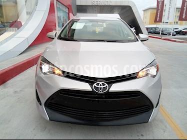 Toyota Corolla Base usado (2017) color Plata precio $205,000
