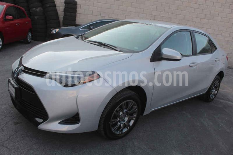 Toyota Corolla Base Aut usado (2018) color Plata precio $229,000