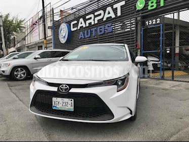 Toyota Corolla LE 1.8L Aut usado (2020) color Blanco precio $319,000