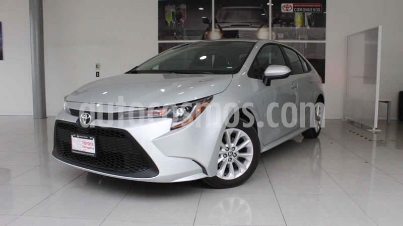 Toyota Corolla LE 1.8L Aut usado (2020) color Plata precio $340,000