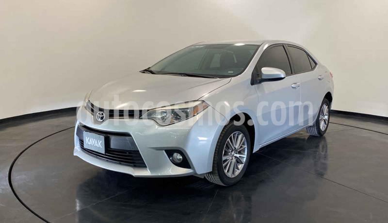 Toyota Corolla LE 1.8L Aut usado (2015) color Plata precio $197,999