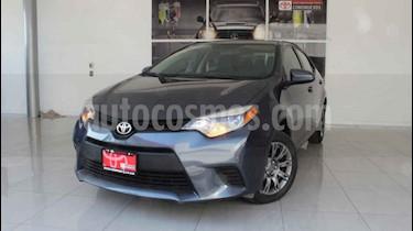 Toyota Corolla 4p LE L4/1.8 Aut usado (2017) color Gris precio $230,000