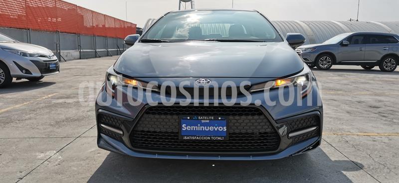 Toyota Corolla SE usado (2020) color Azul precio $405,000