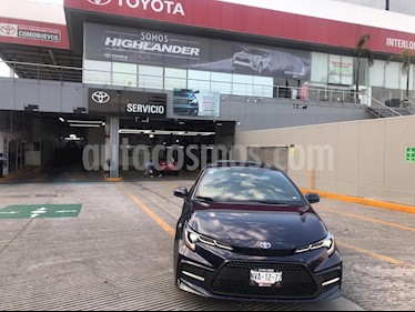 Toyota Corolla SE usado (2020) color Azul precio $389,000