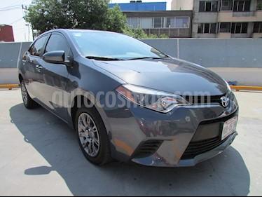 Toyota Corolla Base Aut usado (2016) color Gris precio $215,000