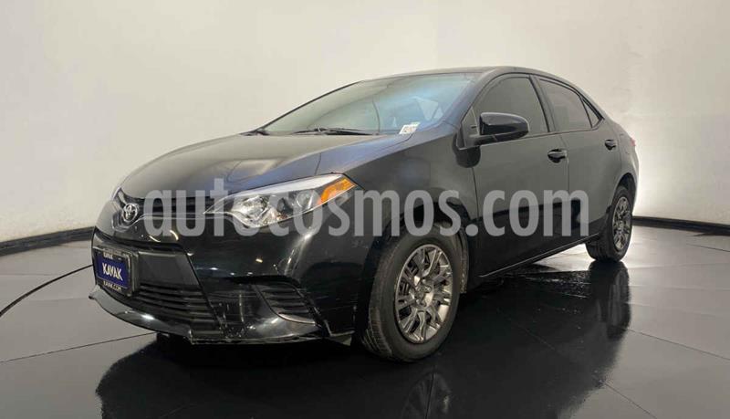 Toyota Corolla Base Aut usado (2014) color Negro precio $169,999