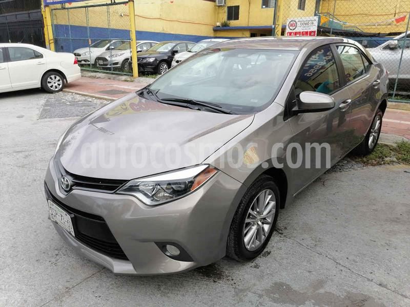 Toyota Corolla LE 1.8L Aut usado (2015) color Dorado precio $185,000