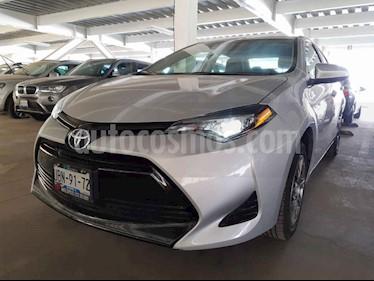 Toyota Corolla 4p Base L4/1.8 Aut usado (2019) color Plata precio $285,000