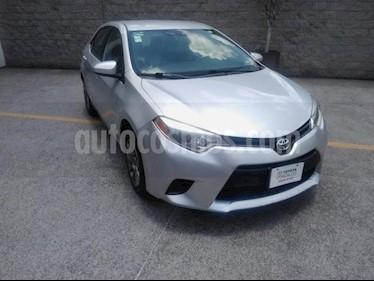 Toyota Corolla 4P BASE AT A/AC. BA R-16 usado (2016) color Plata precio $160,000