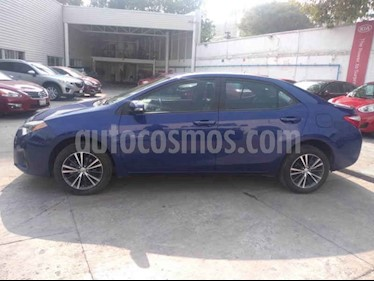 Toyota Corolla S Aut usado (2016) color Azul precio $239,000