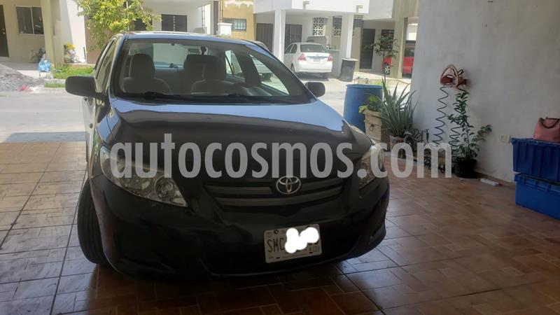 Toyota Corolla CE 1.8L usado (2009) color Negro precio $105,000