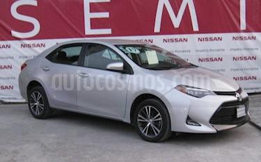 Toyota Corolla LE Aut usado (2017) color Plata precio $205,000