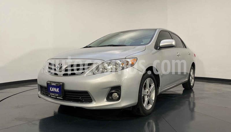 Toyota Corolla XLE 1.8L Aut usado (2013) color Gris precio $162,999