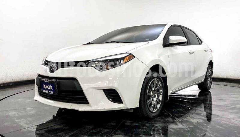 foto Toyota Corolla Base Aut usado (2016) color Blanco precio $209,999