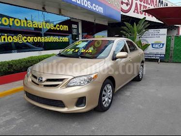 Toyota Corolla LE 1.8L Aut usado (2013) color Dorado precio $159,900