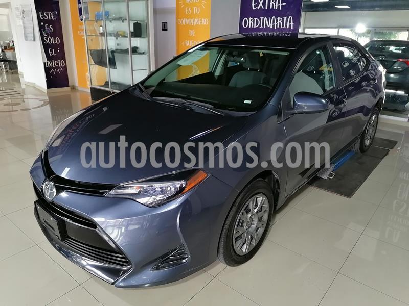Toyota Corolla Base usado (2018) color Gris precio $235,000