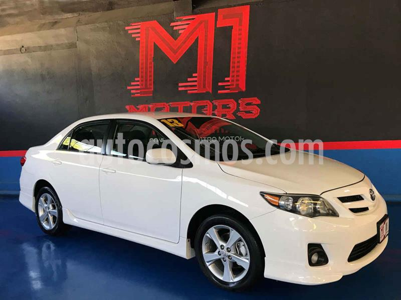 Toyota Corolla XRS 2.4L usado (2013) color Blanco precio $145,000