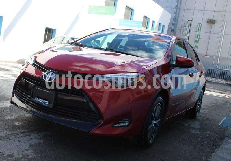Toyota Corolla S 1.8L  usado (2017) color Rojo precio $232,000