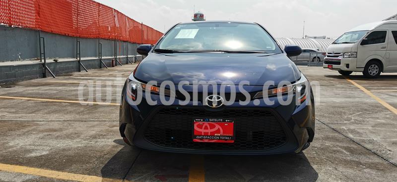 Toyota Corolla LE Aut usado (2020) color Azul precio $335,000