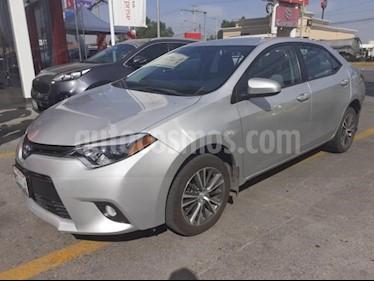 Toyota Corolla 4P LE L4/1.8 AUT usado (2016) color Plata precio $215,000