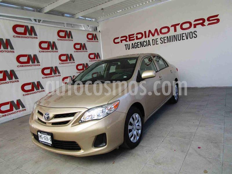 Toyota Corolla LE 1.8L usado (2013) color Beige precio $129,000