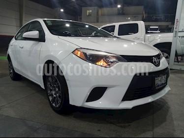 Toyota Corolla Base usado (2015) color Blanco precio $179,000