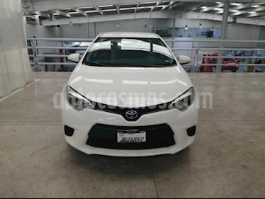 Toyota Corolla 4P BASE L4/1.8 AUT usado (2016) color Blanco precio $185,000