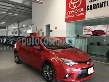 Toyota Corolla 4P LE TA A/AC. BL F. NIEBLA RA-16 usado (2016) color Rojo precio $205,000