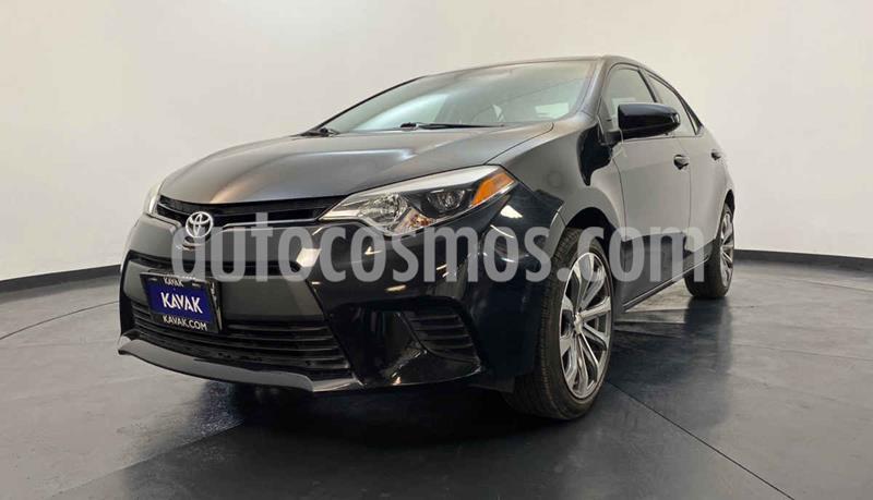 Toyota Corolla Base usado (2014) color Negro precio $169,999