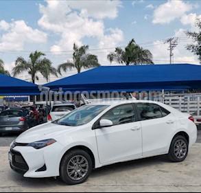 Toyota Corolla Base Aut usado (2018) color Blanco precio $220,000