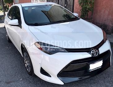 Foto Toyota Corolla Base Aut usado (2017) color Blanco precio $220,000