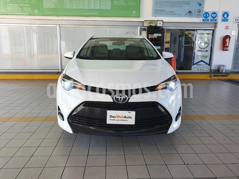 Toyota Corolla LE Aut usado (2018) color Blanco precio $239,900