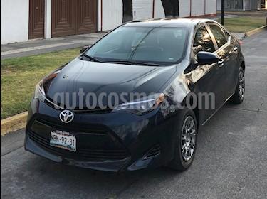 Toyota Corolla C usado (2017) color Negro Destellante precio $179,000