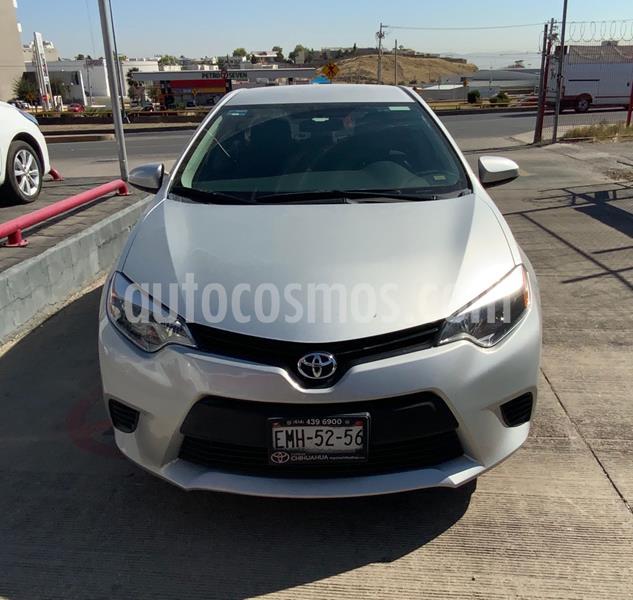 Toyota Corolla Base usado (2016) color Plata Dorado precio $192,000