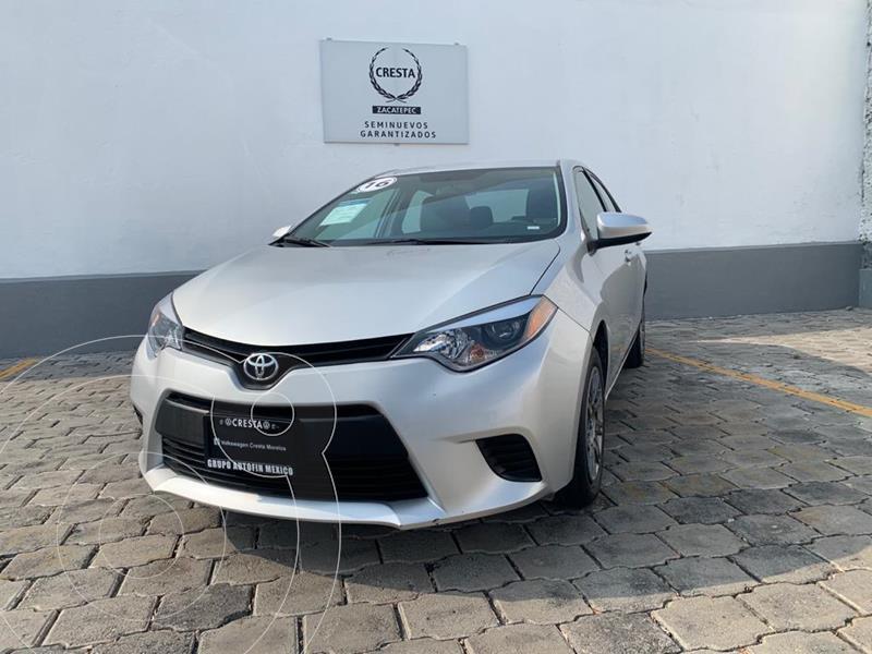 Foto Toyota Corolla Base Aut usado (2016) color Plata precio $194,900
