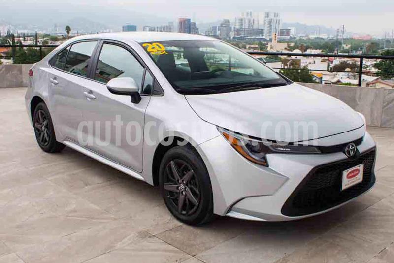 Toyota Corolla Base Aut usado (2020) color Plata precio $289,700