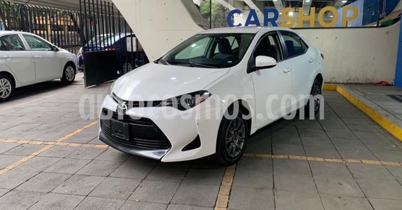Toyota Corolla Base usado (2019) color Blanco precio $234,900