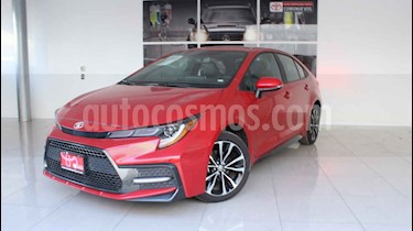 Toyota Corolla 4p SE L4/1.8 Aut usado (2020) color Rojo precio $384,000