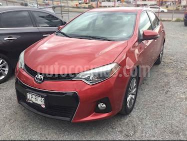 Toyota Corolla S Aut usado (2015) color Rojo precio $230,000