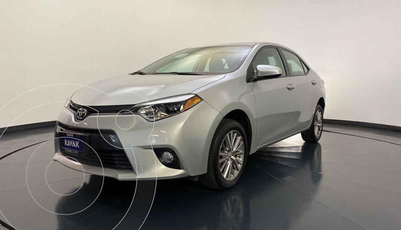 Toyota Corolla LE 1.8L Aut usado (2015) color Plata precio $199,999