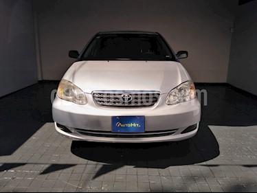 Toyota Corolla CE 1.8L Aut usado (2008) color Plata precio $115,000