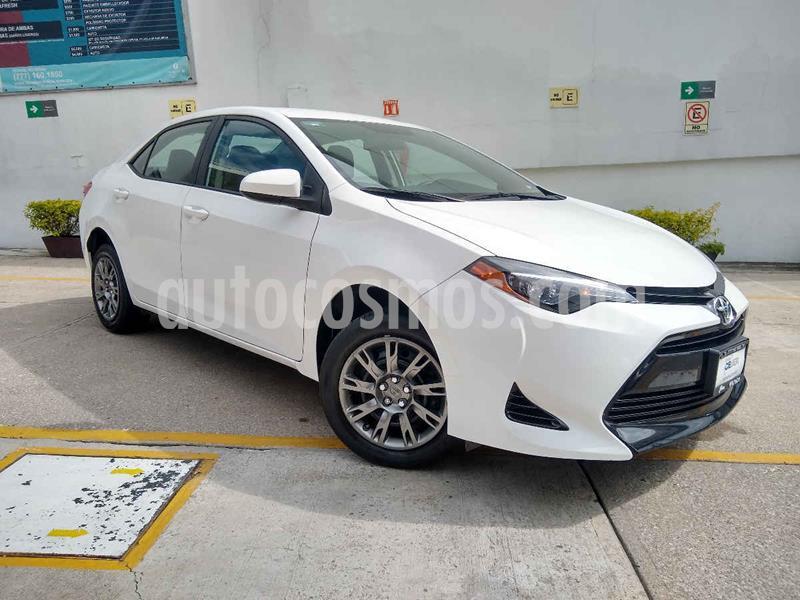 Toyota Corolla Base Aut usado (2018) color Blanco precio $228,000