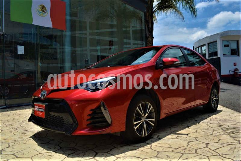 Toyota Corolla SE Aut usado (2017) color Rojo precio $260,000