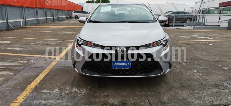Toyota Corolla Base usado (2020) color Plata precio $319,000