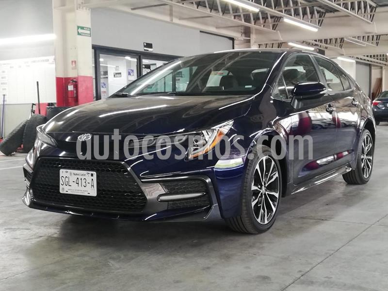 Toyota Corolla SE Aut usado (2020) color Azul precio $395,900