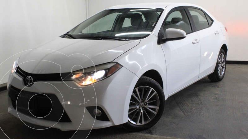 Foto Toyota Corolla LE 1.8L Aut usado (2014) color Blanco precio $195,000